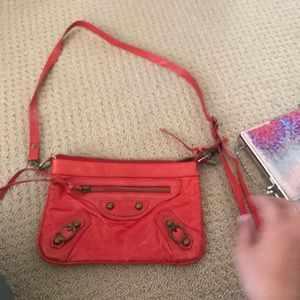 Handbags - Red leather bag